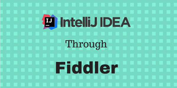 Short post on how to capture HTTP traffic directly running in the Intellij IDE with Fiddler - a handy technique for debugging problems