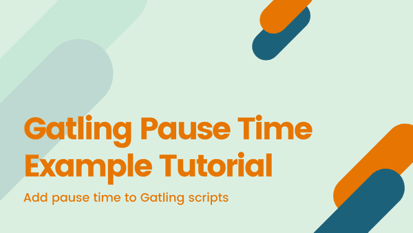 See the various different ways that you can add pause time into your gatling scripts, making them more realistic of actual user journeys